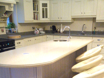 Gurteen Kitchens Project, Cream Solid Painted Kitchen, Castlebar, Co. Mayo, Ireland - Featured Image