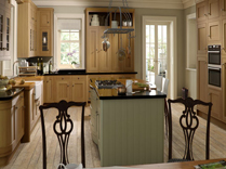 Iona Inframe Light Oak and painted Olive Kitchens, Gurteen Kitchens, Gurteen, Knock Road, Ballyhaunis, Co. Mayo, Ireland - Featured Image