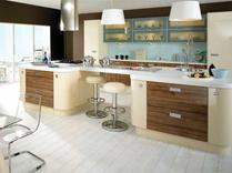 Ultra High Gloss Vanilla and Olivewood Kitchens, Gurteen Kitchens, Gurteen, Knock Road, Ballyhaunis, Co. Mayo, Ireland, Feature-Image