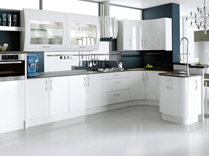 White Ultra High Gloss Kitchens, Gurteen Kitchens, Gurteen, Knock Road, Ballyhaunis, Co. Mayo, Ireland - Feature-Image