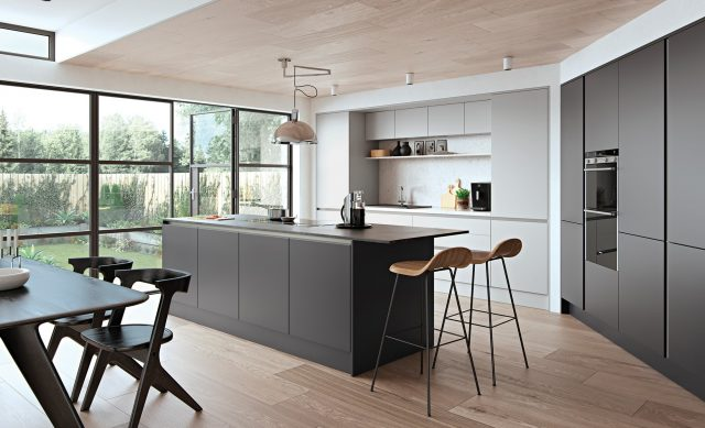 http://www.gurteenkitchens.ie/wp-content/uploads/2019/08/modern-contemporary-zola-matte-graphite-light-grey-kitchen-hero-640x389.jpg